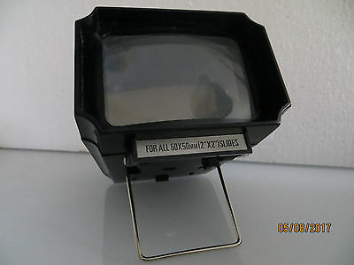 Table Style Kmart Focal Magnum Slide Viewer..    Made In 1970