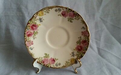 Royal Doulton Spare Saucer - 'English Rose' (D6071)