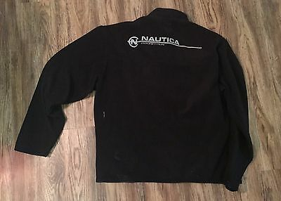 Nautica Competition Half-zip/Jacket/Coat/Pullover size L VTG 90s Yachty Sailing