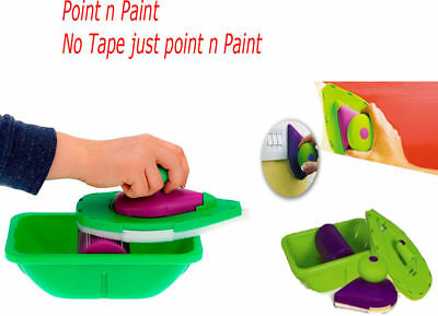 AU Point Paint Pad Painting Roller Tray Sponge Kit Brush Home Wall Decor Tool
