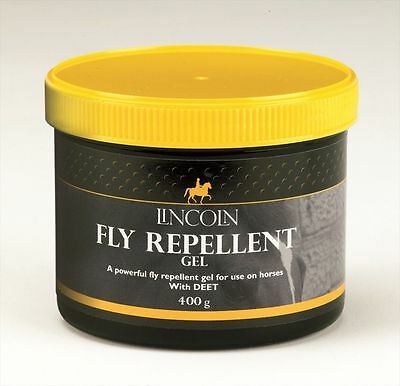 Lincoln Fly Repellent Gel - Horse Pony First Aid - 400g