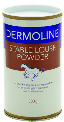 Dermoline Stable Louse Powder - 500 g - Fly, louse & Insect Control