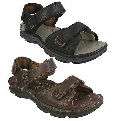 ef0052bd4ff Mens Clarks Leather Slingback Open Toe Outdoor Casual Beach Sandals Atl Part