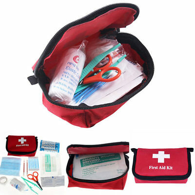 11pcs emergencia bolsa médica Supervivencia primeros auxilios bolso bag set kit