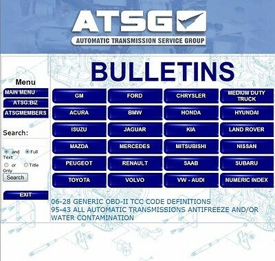 Atsg automatic transmission service group 2015 transmissions atsg 2012 automatic transmission service group all models up to 2012 software fandeluxe