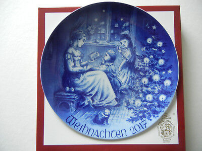 Bareuther Weihnachtsteller Christmas Plate 2017  - SOFORT lieferbar!!