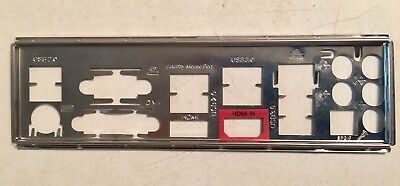 I/O Shield io Backplate ONLY - for Asrock Fatal1ty H87 Performance Motherboard