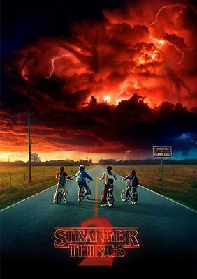 A3 - Stranger Things - MOVIE Film Cinema Home Posters Art #10