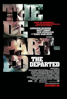 A3 - THE DEPARTED - MOVIE Film Cinema Home Posters Art #10