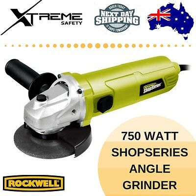 Rockwell 750 Watt ShopSeries Angle Grinder, 100mm Grinding Disc Included