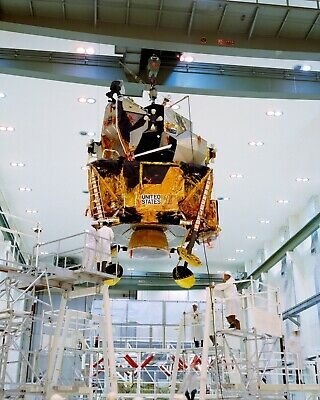 Apollo 12 Lunar Module Is Moved @ Kennedy Space Center  8X10 Nasa Photo (Zz-779)