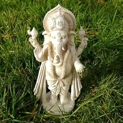 Ganesh Lord Hindu God Statue Standing Ganapati Tall Figurine Sculpture Elephant