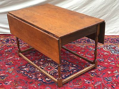 18Th Century William & Mary Period  New England Tavern Table
