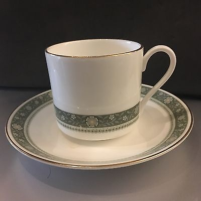 Royal Doulton 'Rondelay' coffee cups and saucers (set of 9 and spare saucer)