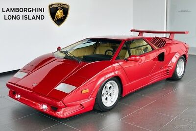 1989 Lamborghini Countach 25th Anniversary Offered for Sale by Long Island's Only Factory Authorized Lamborghini Dealer