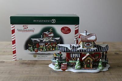 Department 56 Tinker's Caboose Cafe - North Pole Series