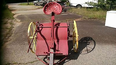 antique horse drawn cornstalk chopper.