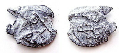 Ancient Byzantine Lead Seal with Inscriptions#AR236-239