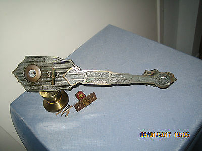 Vintage Residential Entry Door Handle