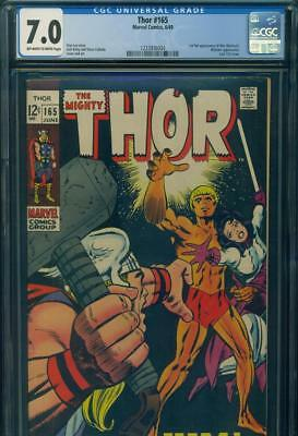 THOR #165 CGC 7.0 FN/VF 1st Full HIM ADAM WARLOCK  INFINITY  Marvel Comics KEY