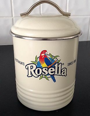 Rosella  Metal Beige  Canister
