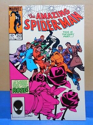 THE AMAZING SPIDER-MAN Vol.1 #253 1963/98 Marvel Uncertified 1st App. of ROSE!