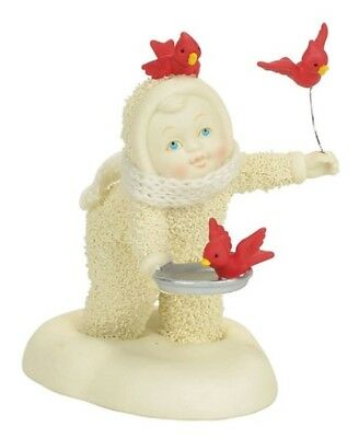 Dept 56 Snowbabies In Flight Meal #4058261  BRAND NEW 2017  Free Shipping