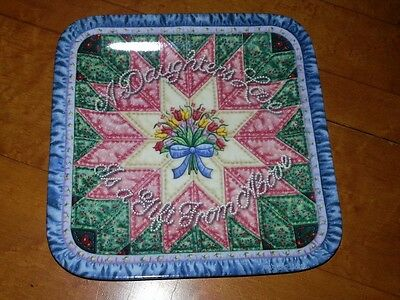 Forever My Daughter A DAUGHTER'S LOVE Plate #2 Quilt Mary Ann Lasher