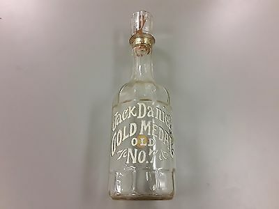 Vintage 1971 JACK DANIEL'S Gold Medal Old No. 7 glass 1/2 gallon decanter, Large