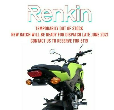 Honda Grom MSX125 Fender Eliminator 2016-18 Tail Tidy