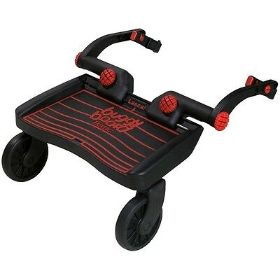 New Lascal Mini Buggyboard with Universal Connectors - Red