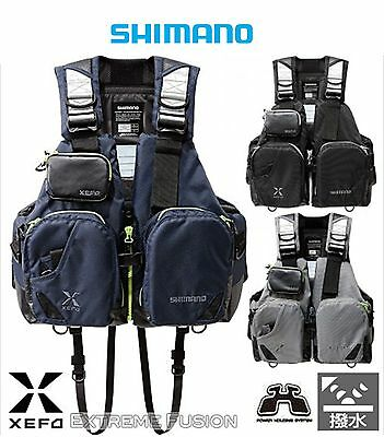 Shimano Functional Lure Game Vest Float Life Jacket VF-272N