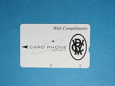1994 - Card Phone Phonecard - With Compliments $0 (Single)