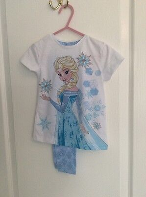 girls frozen pyjamas new without tags age 18/24 months