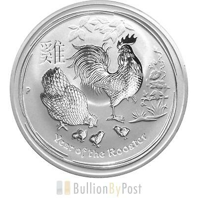 1 x 1oz Perth Mint Silver Year of the Rooster 2017