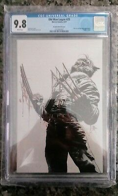 Old Man Logan #25 GUARANTEED CGC 9.8 Deodato Virgin Variant LTD 600 *IN HAND*