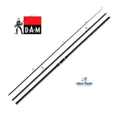 New DAM FIGHTER PRO SURF - Quality Mix-Carbon Surf Rod- 4.50m (100-200g)