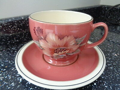 Denby Damask Breakfast Cup And Saucer