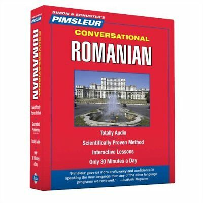 Conversational Romanian: Learn to Speak and Understand Romanian With Pimsleur La