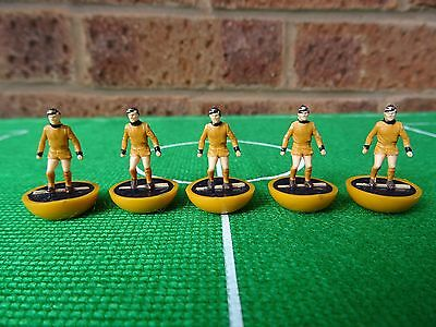 5 x Subbuteo Heavyweight Spare Players  - DUNDEE UNITED - Ref: 49 - Immaculate