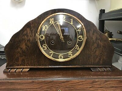 Antique Art Deco Mantle Clock