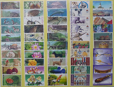 THAILAND STAMP COLLECTION PACKET of 50 DIFFERENT LARGE SIZE STAMPS USED (Lot 1)