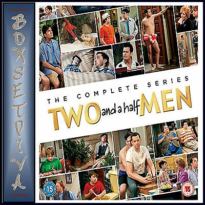 Two And A Half Men - Complete Series - Seasons 1 - 12 *brand New Dvd Boxset***