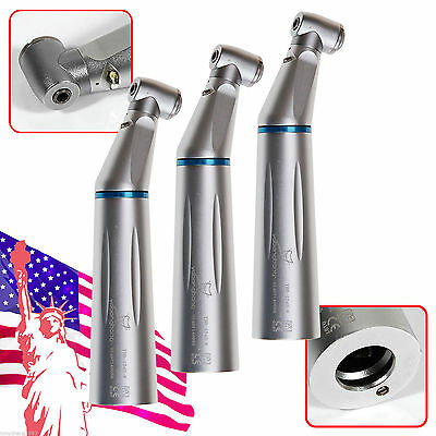3x Dental NSK Type LED Contra Angle E-generator Slow Low Speed Handpiece 1:1 USA