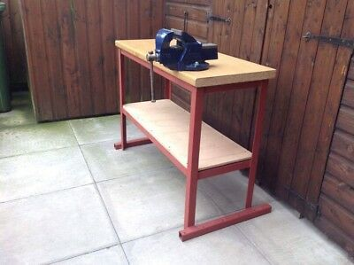 """Workbench With Record No.3 Vice 4"""" Jaws"""