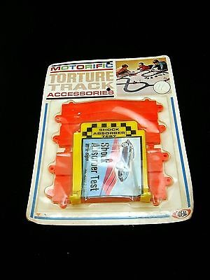 Vintage Ideal Motorific Torture Track Hump Shock Absorber Test Track Sealed Pkg