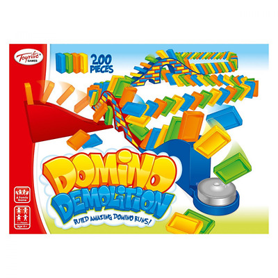 Toyrific Domino Demolition Children Family Game Toy Indoor Activity. New.