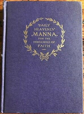 1907 Daily Heavenly Manna GOLD EDITION WATCH TOWER Jehova's Witness
