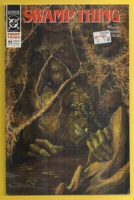 DC Comics - Swamp Thing #93 - March 1990
