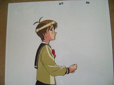 The Vision Of Escaflowne Hitomi Anime Production Cel 5